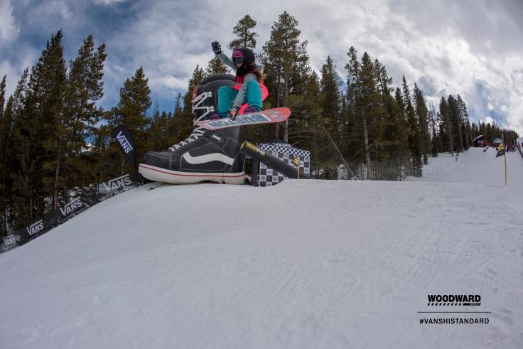 jadyn snowboarding